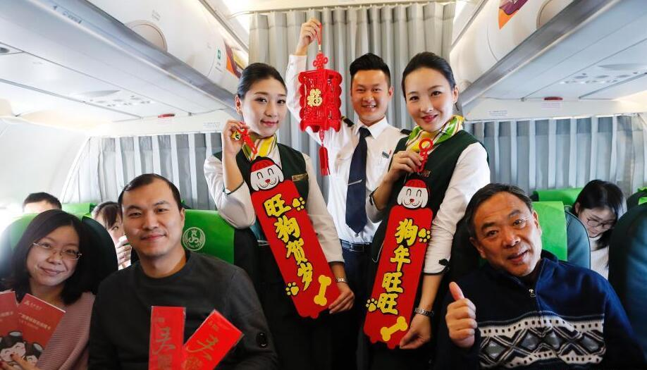 春秋航空台湾籍乘务员的春运