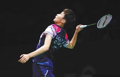 中国队晋级苏迪曼杯羽毛球赛四强(动感2019)