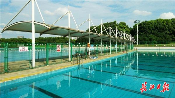 """7月1日 武汉最大的""""花园式""""天然泳池将正式开放"""