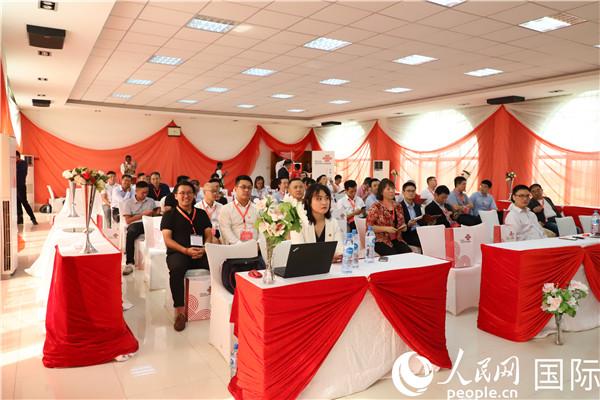 手机靓号买卖中国联通赴尼日利亚与驻地中资企业交流研讨