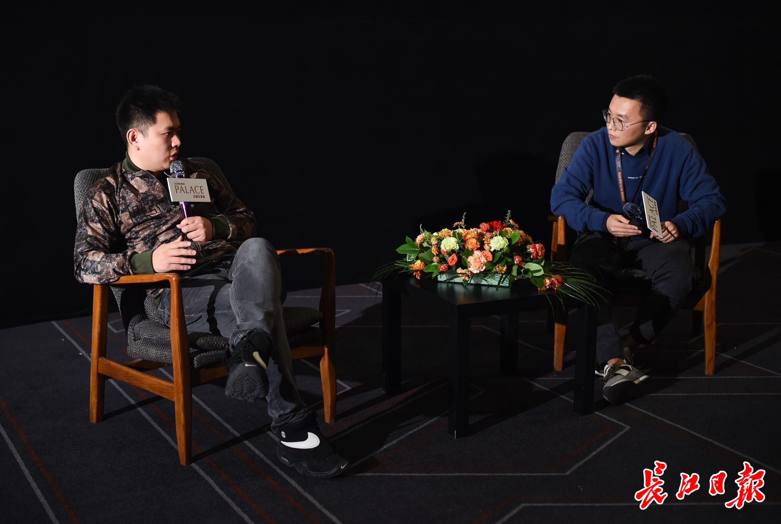 青年导演感叹短片质量高,有机会也来武汉拍片