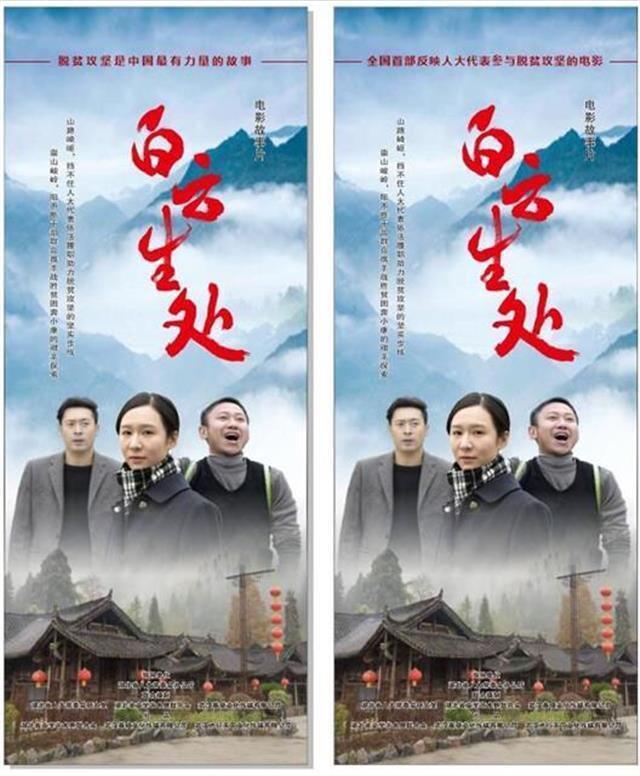 《白云生处》在汉首映!我国首部反映人大代表参与脱贫攻坚的电影