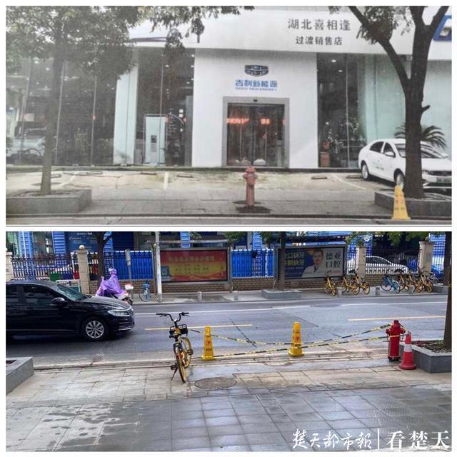 消防栓立在4S店大门正前方,妨碍出入又影响经营!水务集团:挪走!