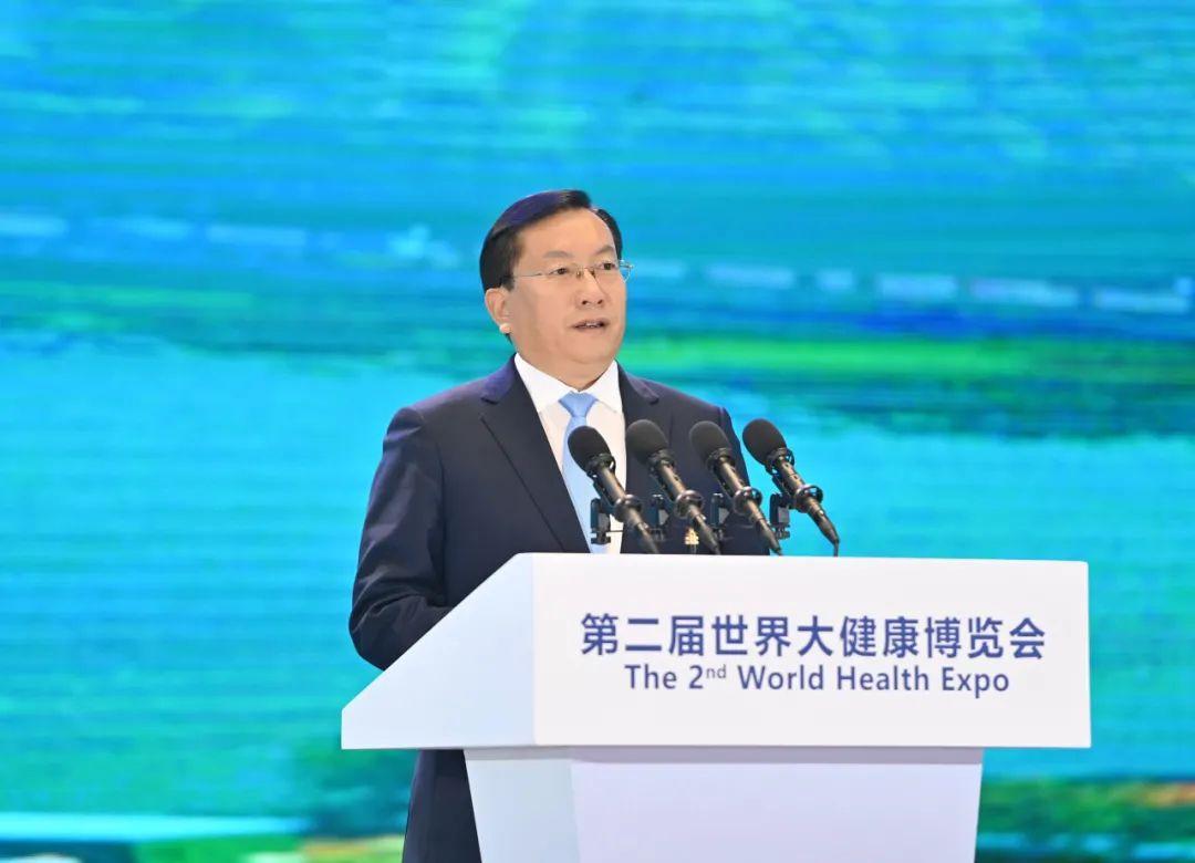 王忠林诚邀各界携手共建健康之城幸福之城:一个崭新的大健康时代已经到来