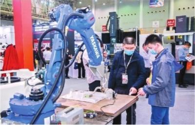 """行业巨头齐聚,最新科技赋能 机博会向世界展现智能制造""""中国高度"""""""
