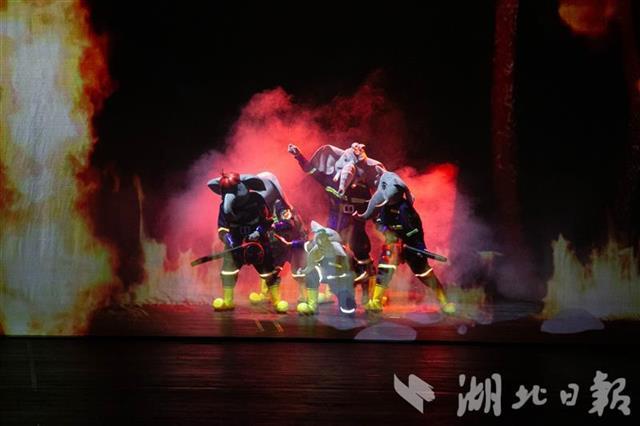 1号站代理开户全国首部消防儿童剧《大象消防局》亮相琴台大剧院