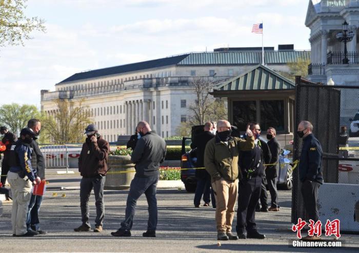"""美国会大厦袭警嫌犯所带刀具曝光 被指""""蓄意袭击"""""""""""