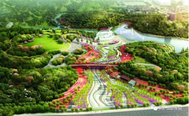 湖北省第三届园博会进入周年倒计时