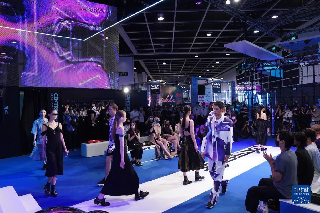 香港举行国际时尚汇展