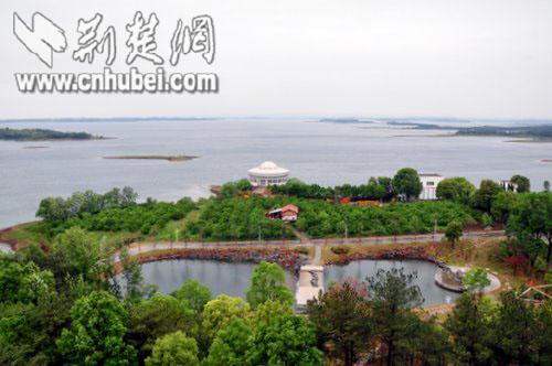 风景如画的荆门漳河水库