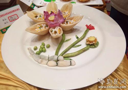 饭店业肥肠技v肥肠湖北区开赛上百做法品争水煮鸭血道菜的职业图片