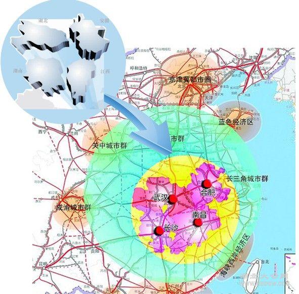 中三角均衡中国经济版图 湖北率先行动