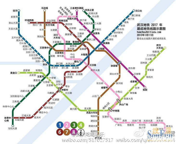 图为:武汉地铁4号线路线图点击查看大图-武汉地铁4号线28日11时正图片
