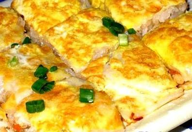 三鲜豆皮 武汉民间特色传统小吃