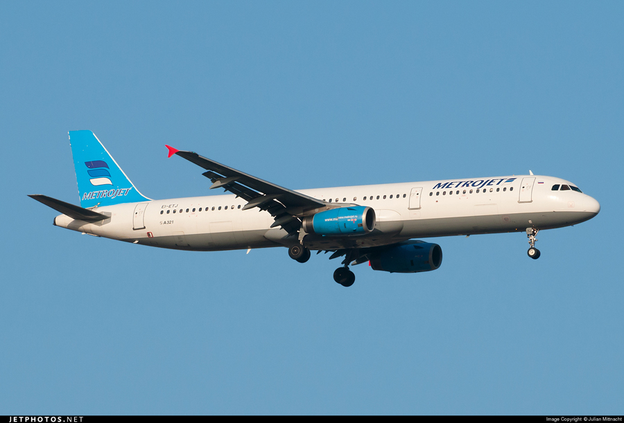 俄罗斯一架载224人客机在埃及坠毁(组图)