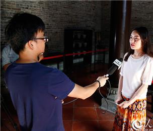 网媒记者:参观红七军军部旧址 感受革命精神
