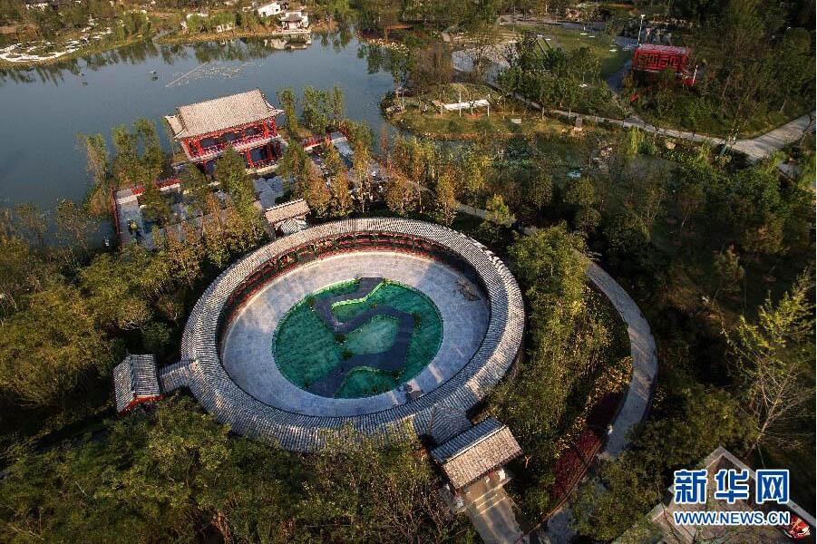 武汉园博会绿化景观全面建成