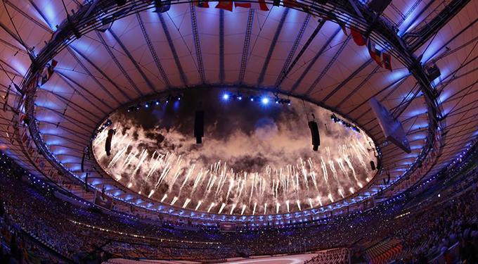 里约奥运会闭幕式举行
