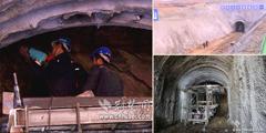 鄂北调水工程最长隧洞工地春节不休紧张施工