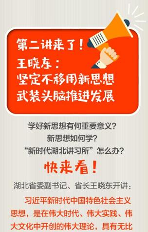 王晓东:坚定不移用新思想武装头脑推进发展
