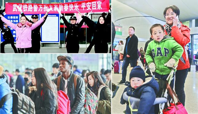 春运湖北预计发送旅客1.11亿人次 这样换乘去火车站和机场