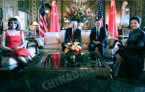 图解:习主席访芬和中美元首会晤主要成果