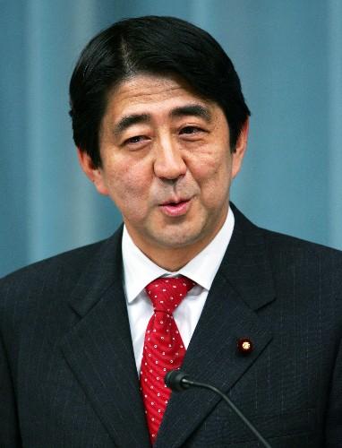 资料图 日本首相安倍晋三