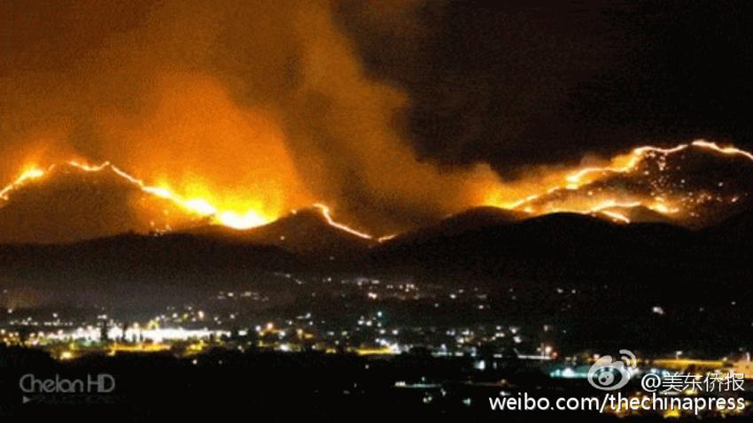 加拿大遇史上最严重森林大火 小镇被瞬间摧毁如人间地狱