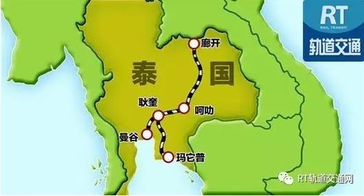 泰国地图卡通画法