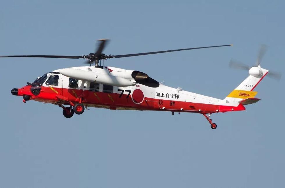 日本海上自卫队uh-60j直升机