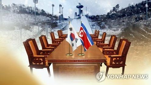 """图二资料图:朝鲜接受9日在韩朝边界板门店""""和平之家""""举行会谈的提议。(图片来源:韩联社).jpg"""