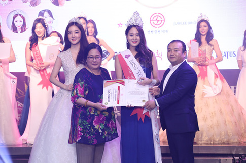 世界旅游小姐韩国冠军出炉 网友:小姐姐真养眼