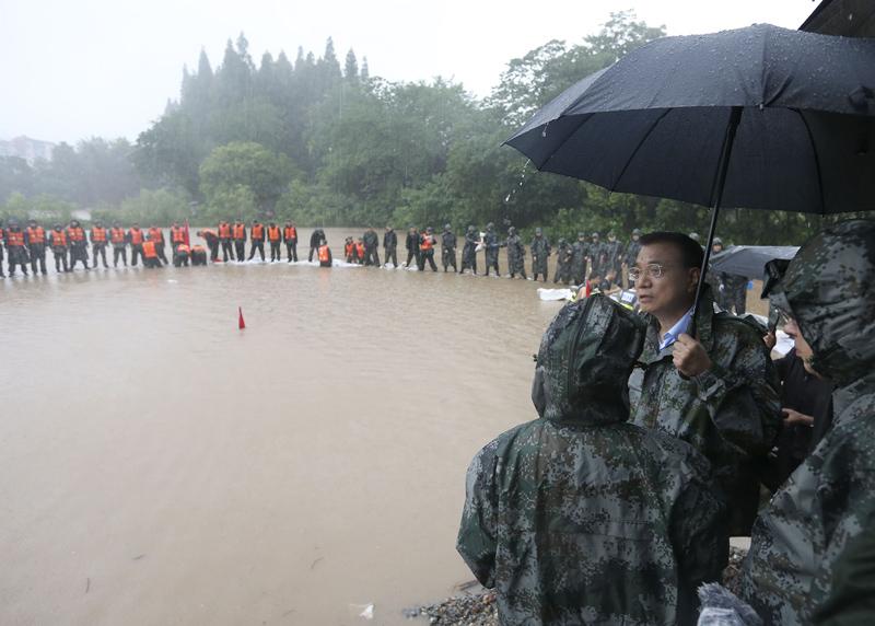 李克强:重大堤防工程必须明确终身责任制
