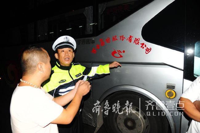 高速遇查丢车跑掉 驾驶员弃车逃跑 民警依法扣车