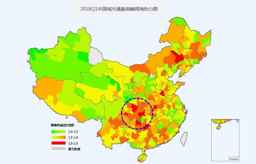 万万没想到!中国堵城排行榜,武汉居然out了!