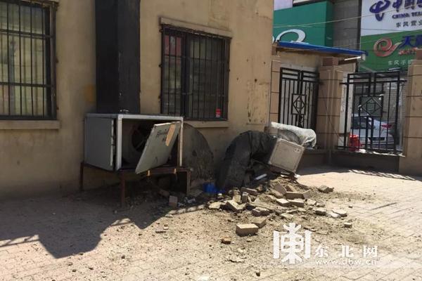 哈尔滨浴池爆炸造成2死3伤 爆炸时小区曾传来沉闷巨响
