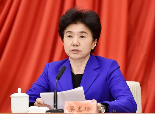 梁惠玲任中国红十字会党组书记,曾在湖北工作33年