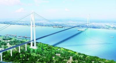 武汉设计国内最大跨度大桥 1760米主桥一跨过江(图)