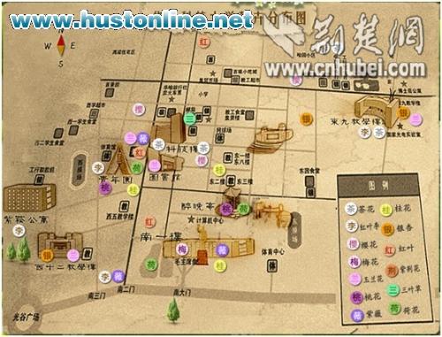 武汉大学地图_武汉大学校内地图_武汉大学电子地图 ...
