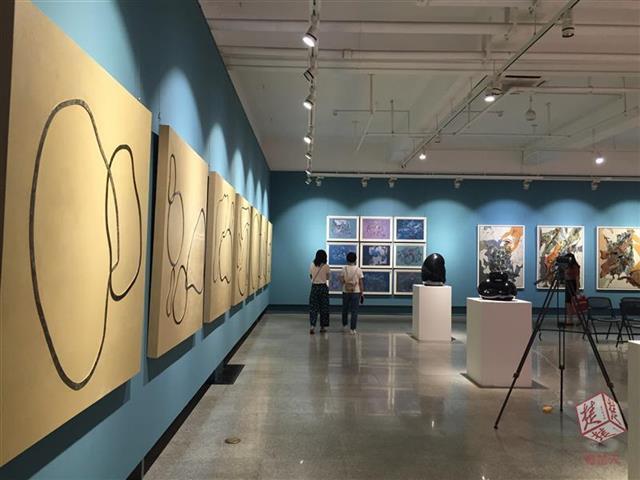 湖北首届高校漆艺作品展开展 300多件作品穿越古今