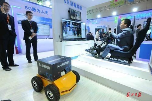"""会动的""""商品码""""、5G、屋顶智能车库……在武汉看见未来!"""