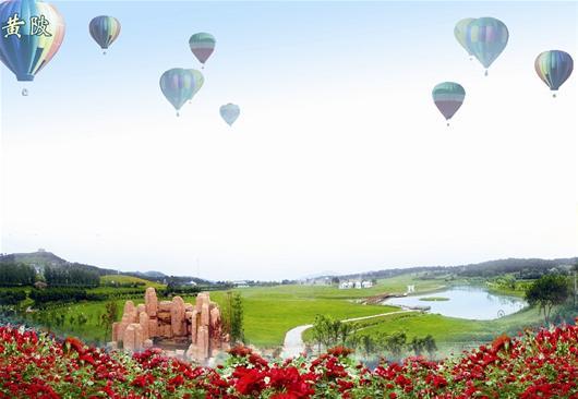 中国武汉木兰玫瑰花园