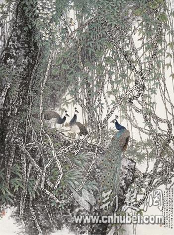 """""""第四届当代岭南中国画双年展2016""""在武汉展出"""