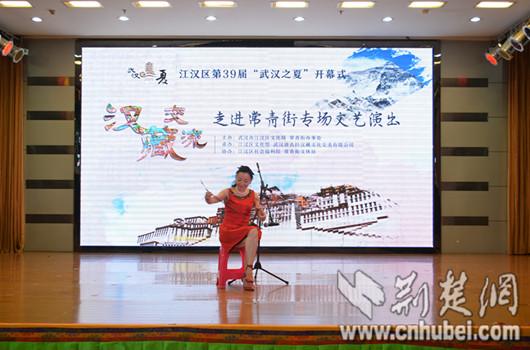演艺人谱子-洪涝,是今年每一个江城人的心头之殇,据江汉区文体局相关负责人介