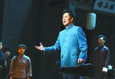 """《游击队之歌》引发大合唱 歌剧《贺绿汀》唱出""""中国声音"""""""