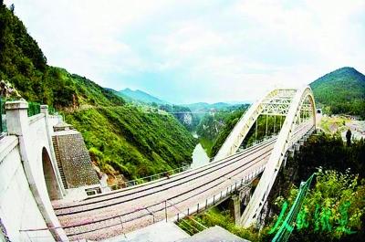 图为:西藏墨脱公路