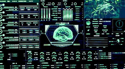 图为:智慧交通数据大脑