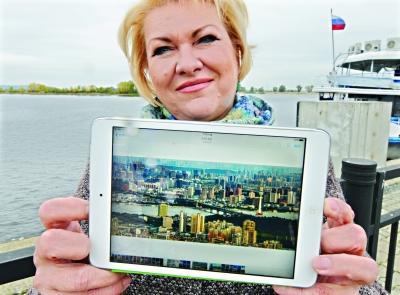 中国摄影师伏尔加河上举办特别展览 长江主轴经典照惊艳俄罗斯