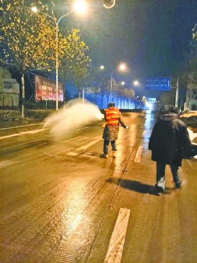 武汉各部门积极应对持续低温天气 保障居民生产