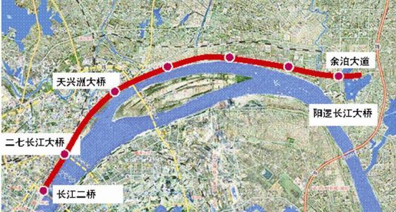 武汉长江新城今年启动建设 将规划建设长江科学城等重点项目
